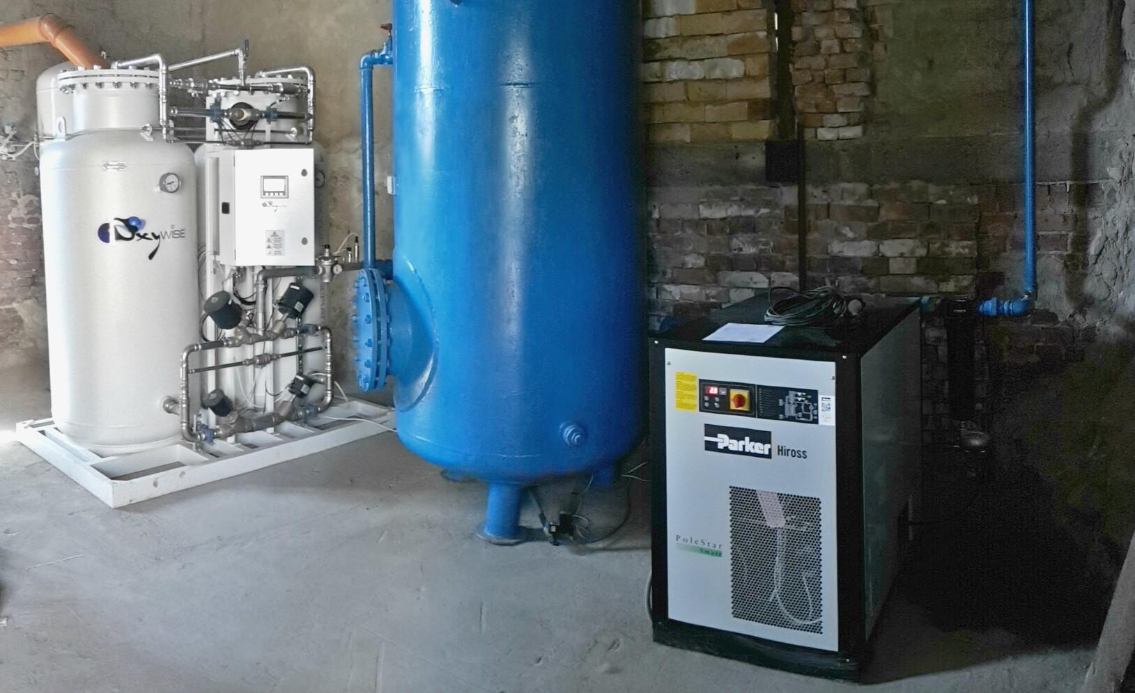 Кислородный генератор для шерстяной промышленности