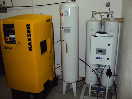Генератор кислорода производительностью 40 л в мин