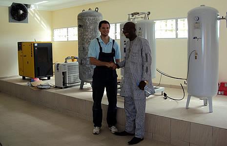 Директор больницы посетил и осмотрел завод