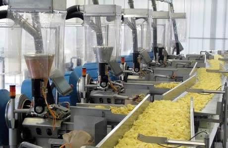 Завод по производству картофельных чипсов
