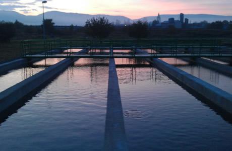 Кислород от генератора используется для обогащения воды