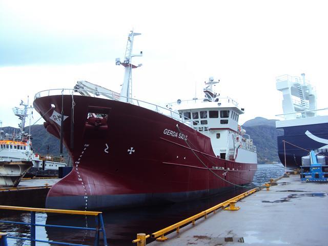 На борту судна GERDA SAELE установлены 2 генератора кислорода