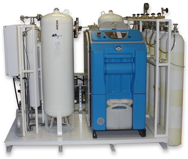 Портативная станция по заправке азотом