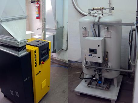 генератор кислорода для фармацевтического применения