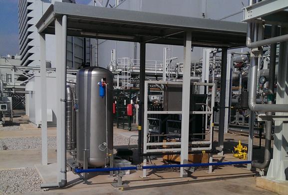 наружный генератор азота на площадке