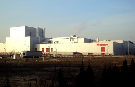 производственный центр Brembo