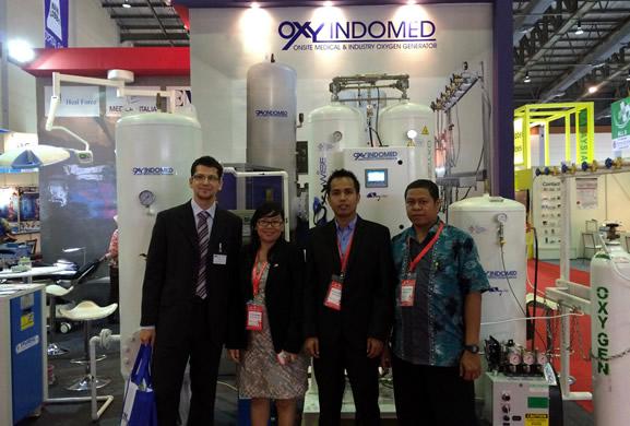 Oxywise и Oxy Indomed на крупнейшей медицинской выставке