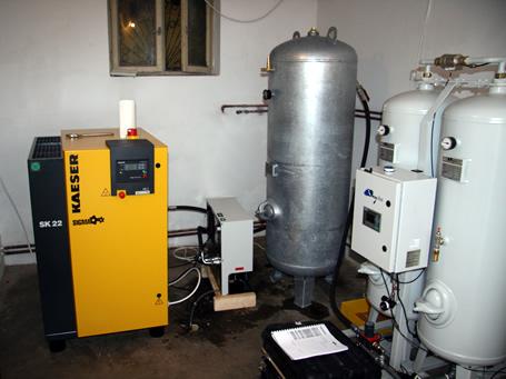 Oxywise поставила новый генератор кислорода